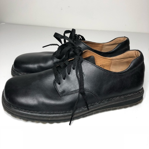 Born Other - Born wayz Black Leather Oxford Lace up shoes  13